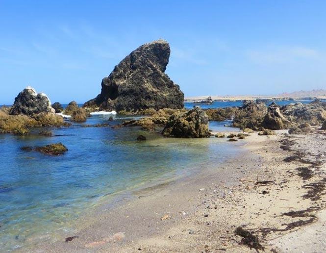 coastal rocky beaches