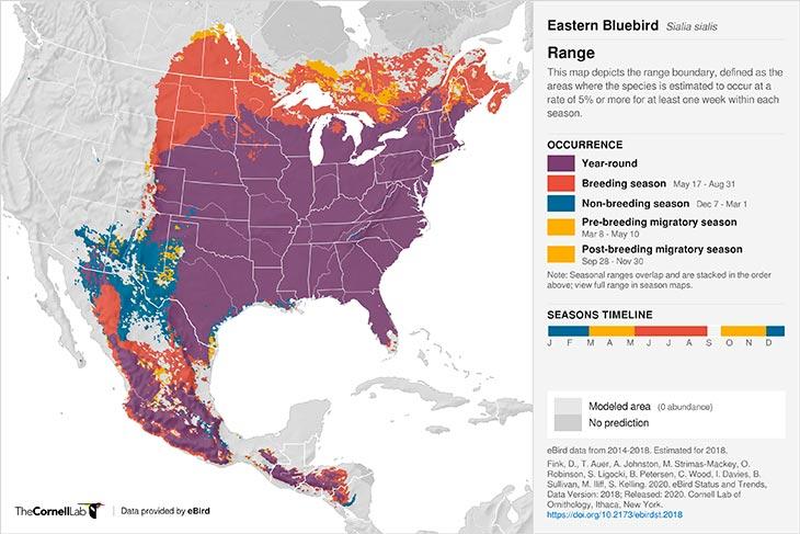 bluebird range-map