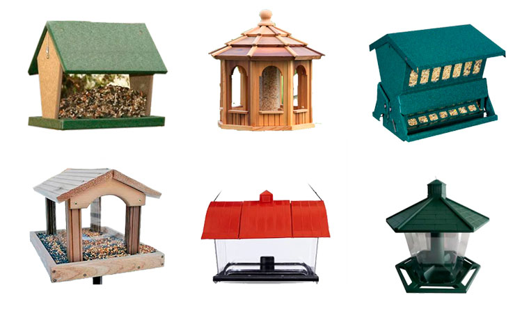 hopper bird feeder types